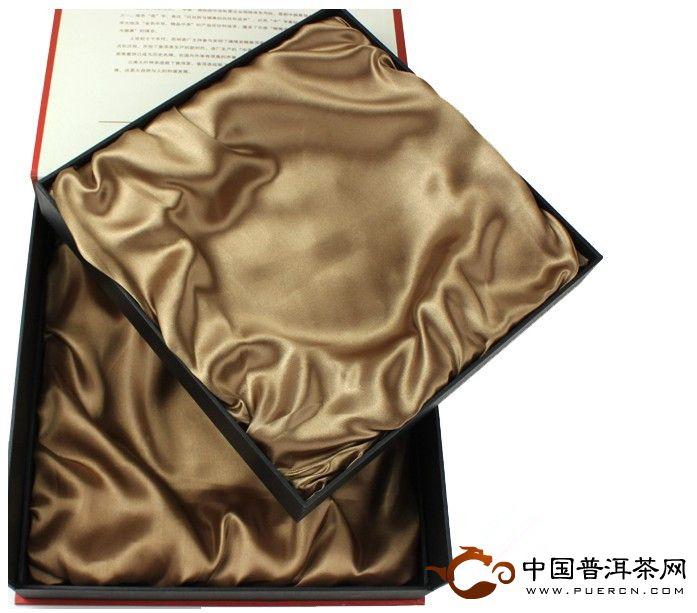 中茶牌中国红双饼礼盒