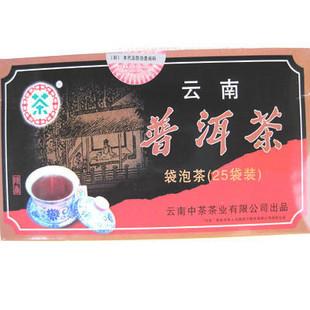 2009年昆明茶厂中茶牌云南普洱袋泡茶