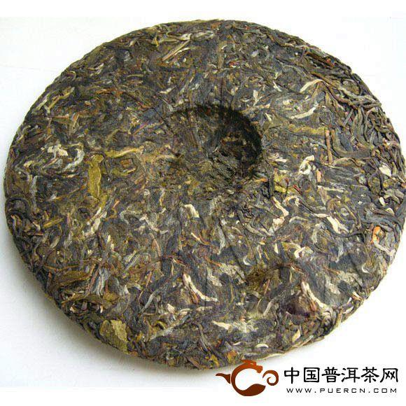 中茶牌景迈圆茶