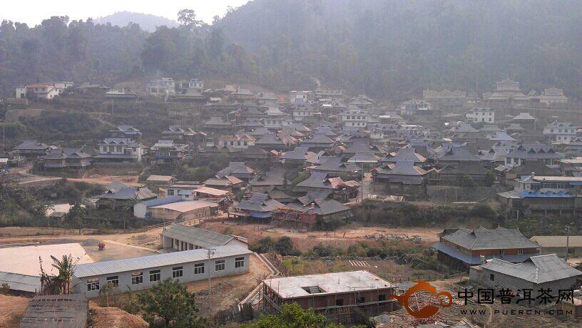 勐海最古老的寨子之一老曼峨寨