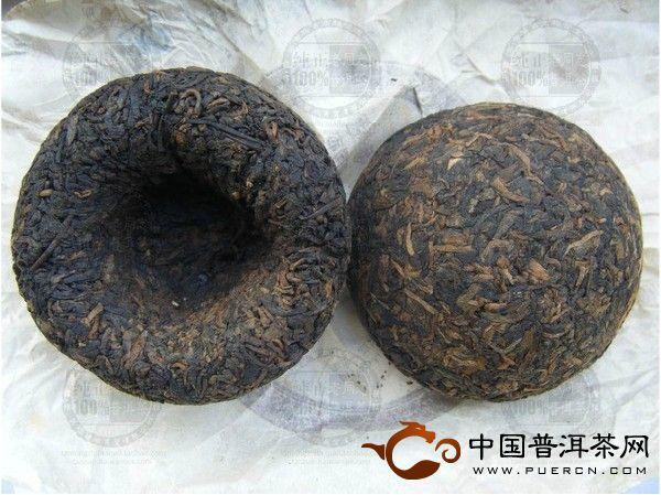 968熟沱老同志普洱茶