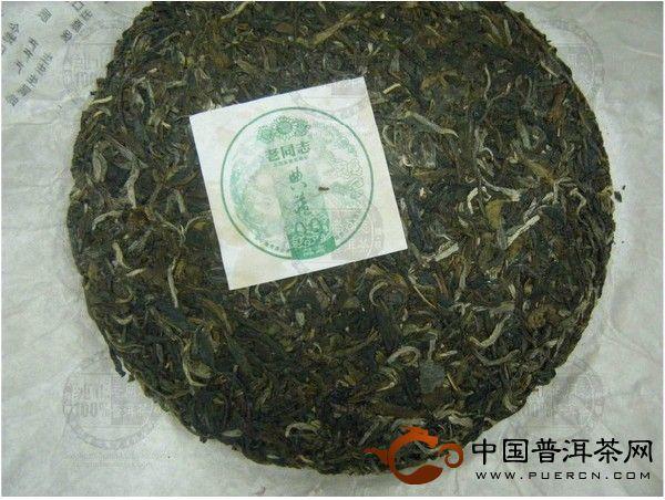 典藏99生饼礼盒老同志普洱茶