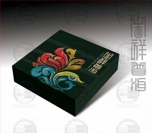 吉祥普洱老树乔木老同志普洱茶海湾茶厂2012年