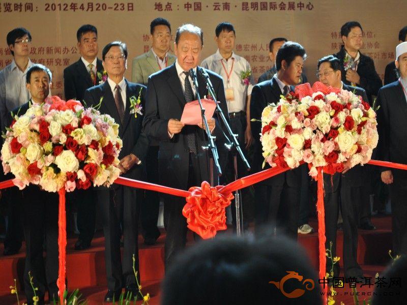 第七届中国云南普洱茶国际博览交易会高清组图开幕式