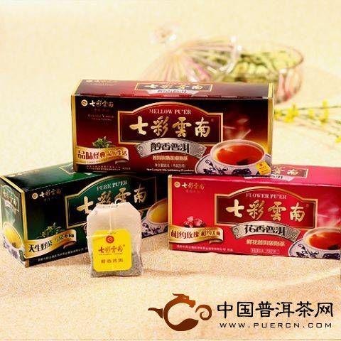 七彩云南普洱茶品牌概述
