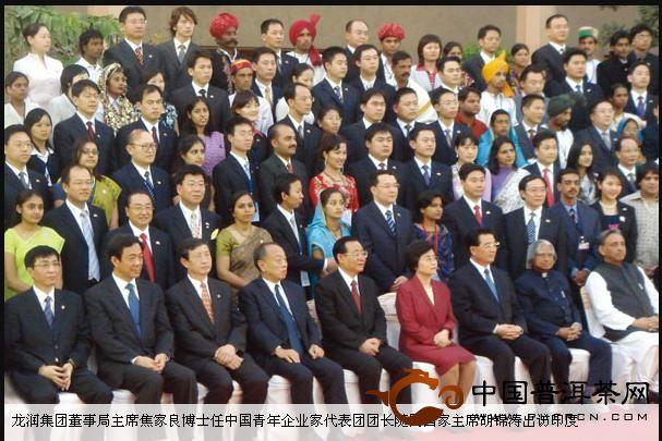 国家领导人来访龙润集团大事记: