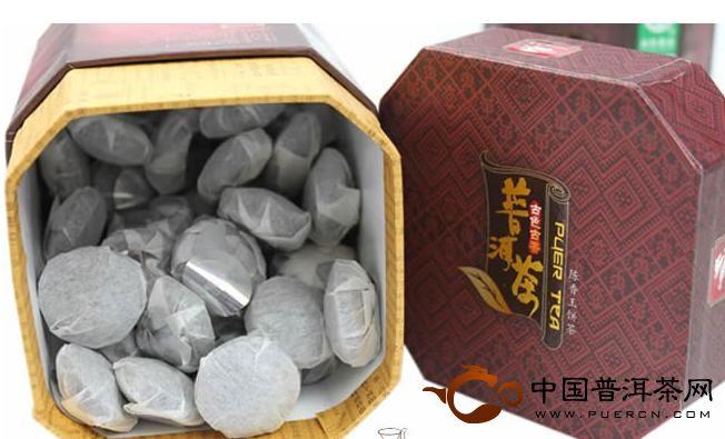 普秀普洱茶 07年陈香玉沱