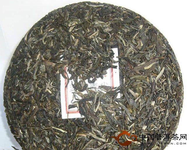勐库戎氏2010年春尖普洱茶生饼