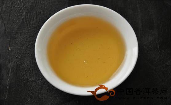 大益春尖青沱茶汤