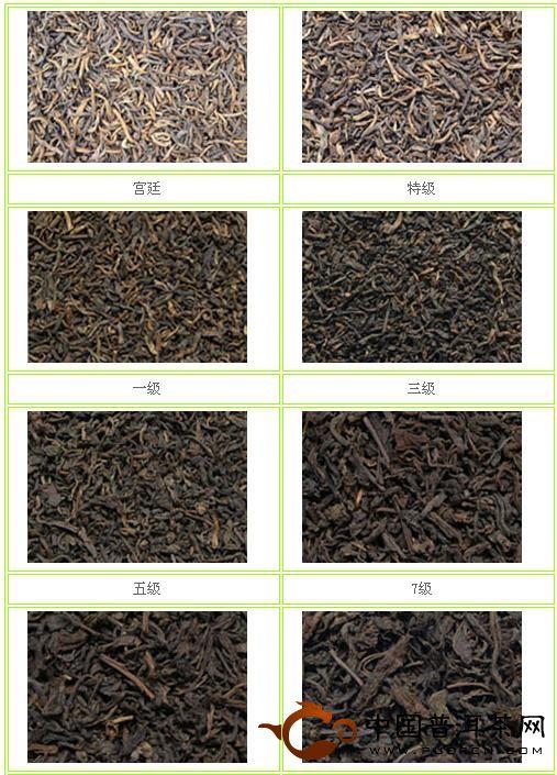 云南普洱茶的分级标准【图文】