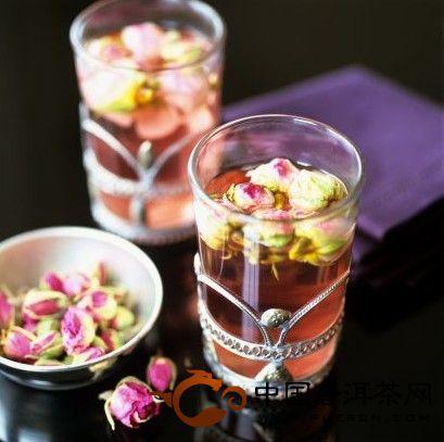 教你自制玫瑰普洱茶