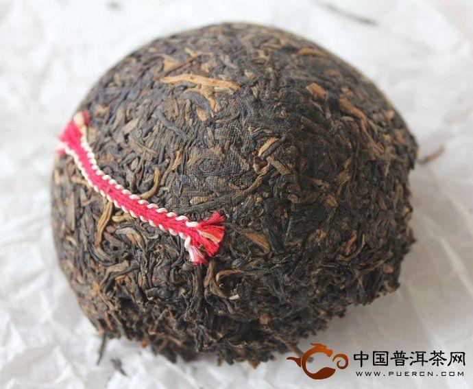 99年勐海茶厂红丝带沱开汤