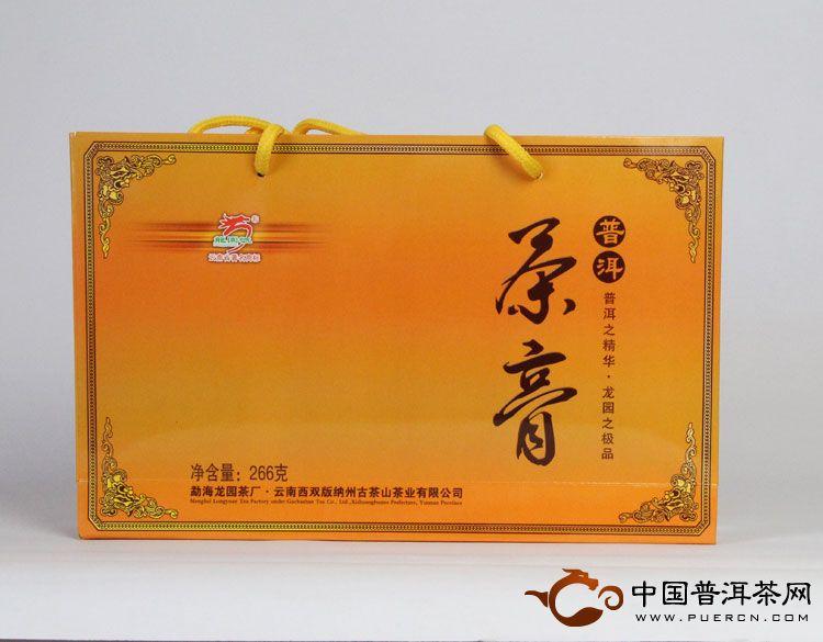 龙园号普洱茶膏2012年 熟茶