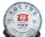 大益普洱茶8582生茶2012年202批357克勐海茶厂