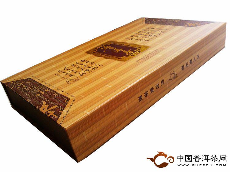 礼盒竹子盒外观侧面
