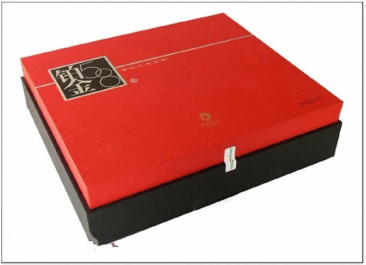 云南滇红集团凤牌铂金58礼盒2012年凤庆茶厂