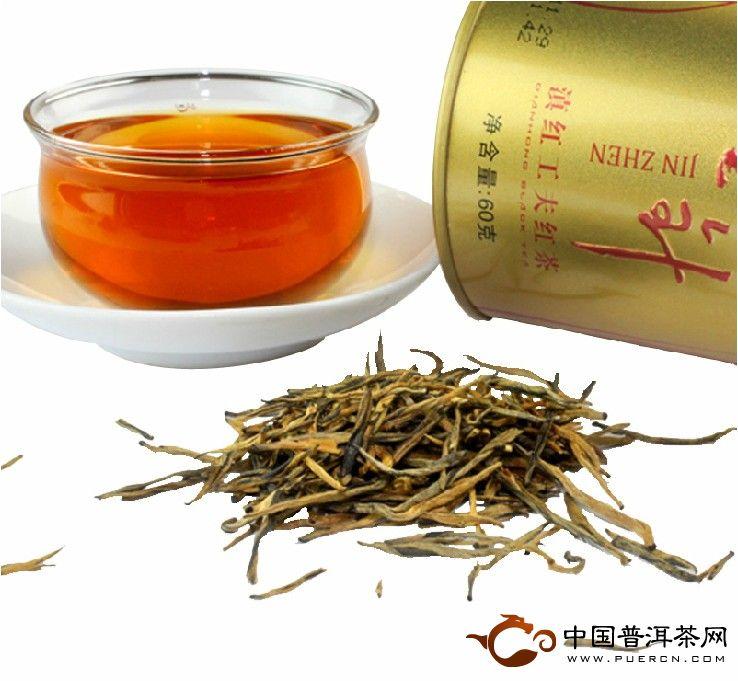 凤牌滇红茶金针60克