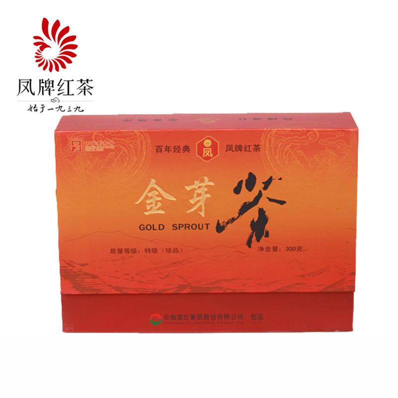 凤牌红茶金芽礼盒300克
