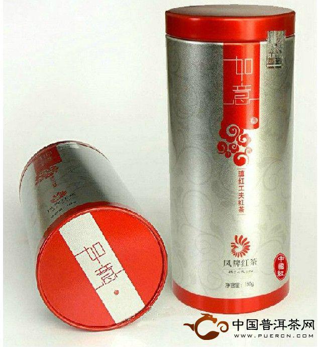 凤牌滇红茶如意150克
