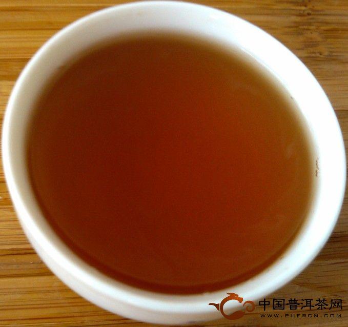 中茶厚德熟饼普洱茶