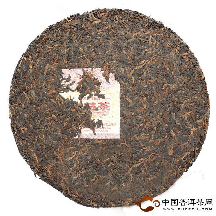 大益普洱茶7572熟茶201批