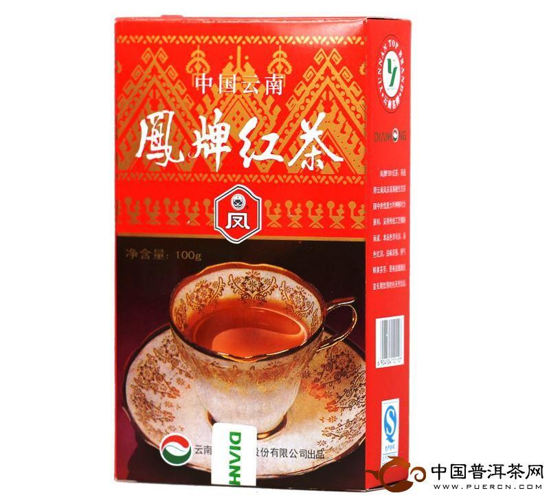 凤牌滇红茶F501