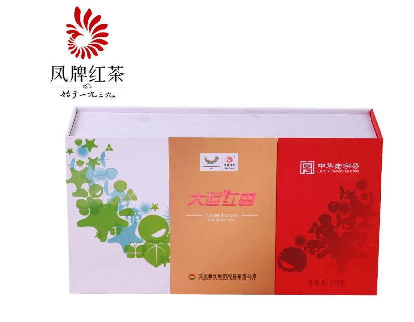 凤牌滇红茶大运红香240克2012年凤庆茶厂云南滇红集团