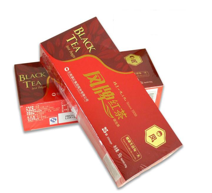 凤牌红茶袋泡茶50克2012年凤庆茶厂云南滇红集团