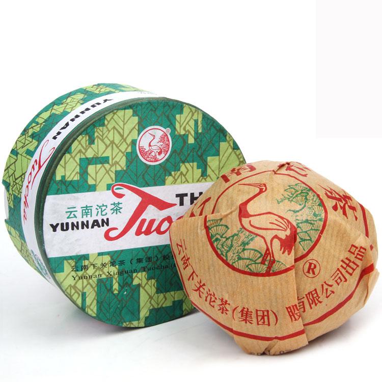下关销法沱100克熟茶2012年下关沱茶集团