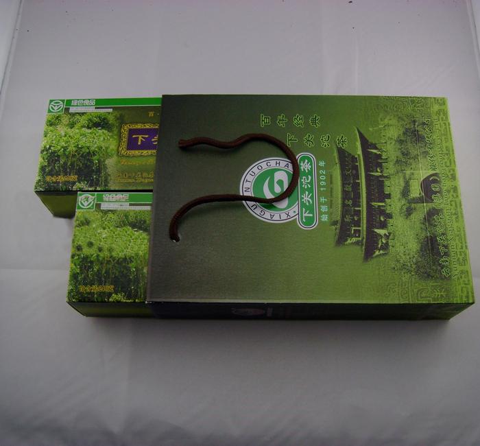 下关微型盒装生沱240克一盒2012年下关沱茶集团