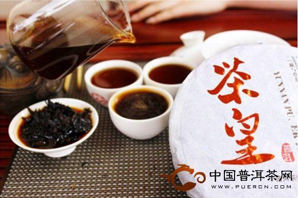 茶皇(熟茶)开汤,今年茶皇特别多