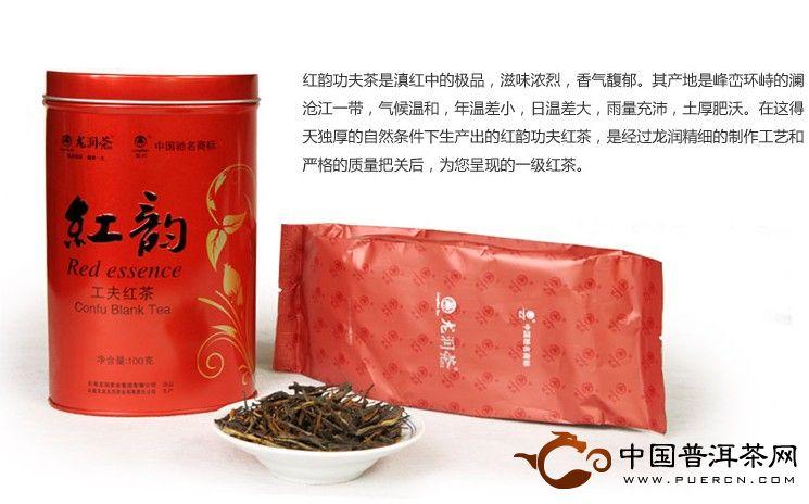 龙润红韵(工夫红茶)100克2012年