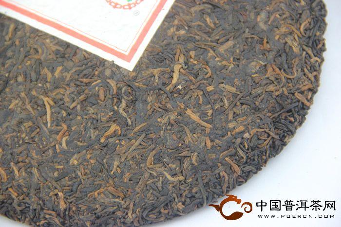 中茶龙年贡饼