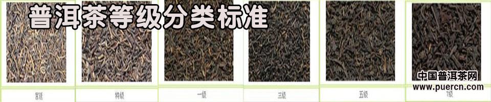 普洱茶等级分类标准