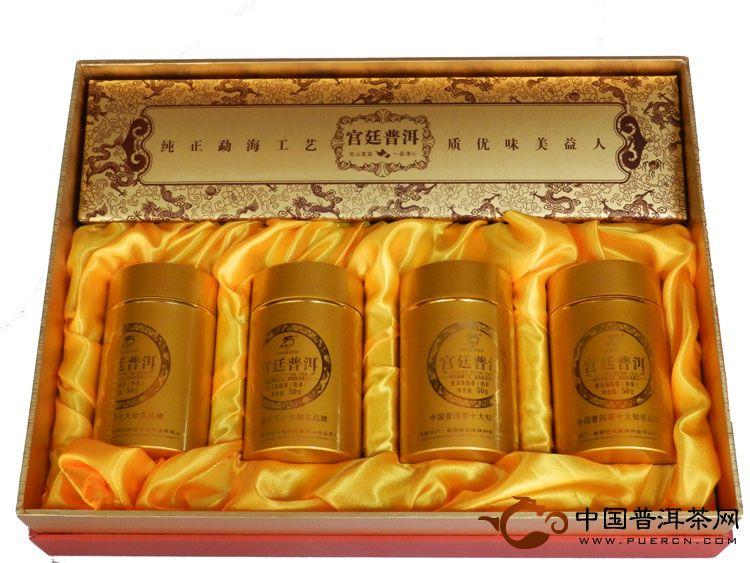 龙园号宫廷普洱礼盒