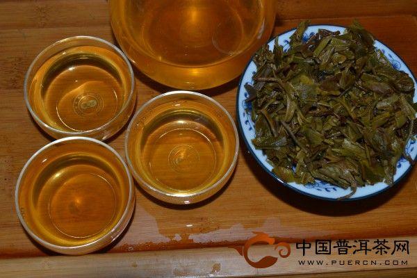 2013年老同志缘和普洱茶(生)