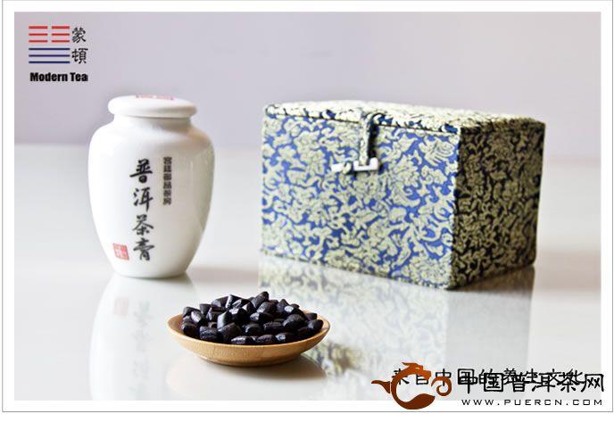 蒙顿(易武春晓)普洱茶膏150克/生茶