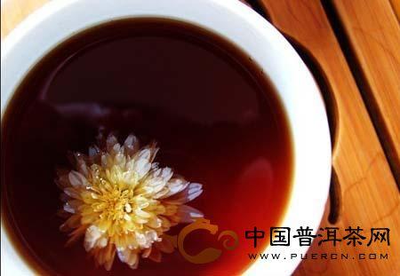 夏天女人茶——菊花普洱茶