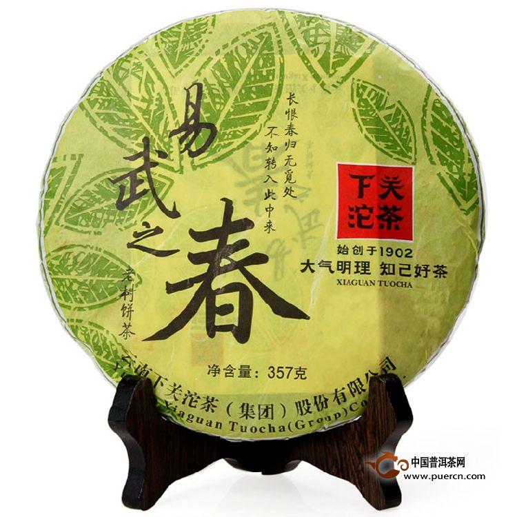 2013年下关易武之春生茶357克