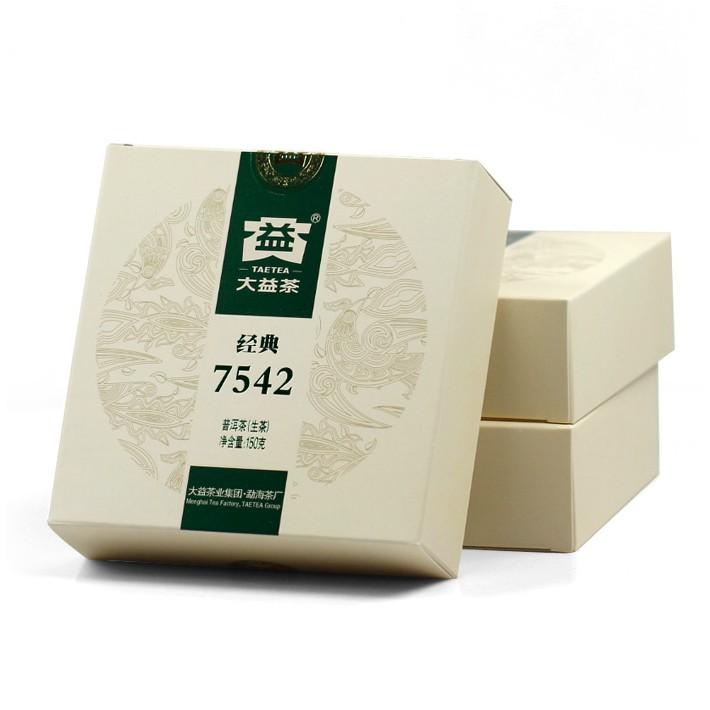 2013年大益经典7542(生茶)301批150克