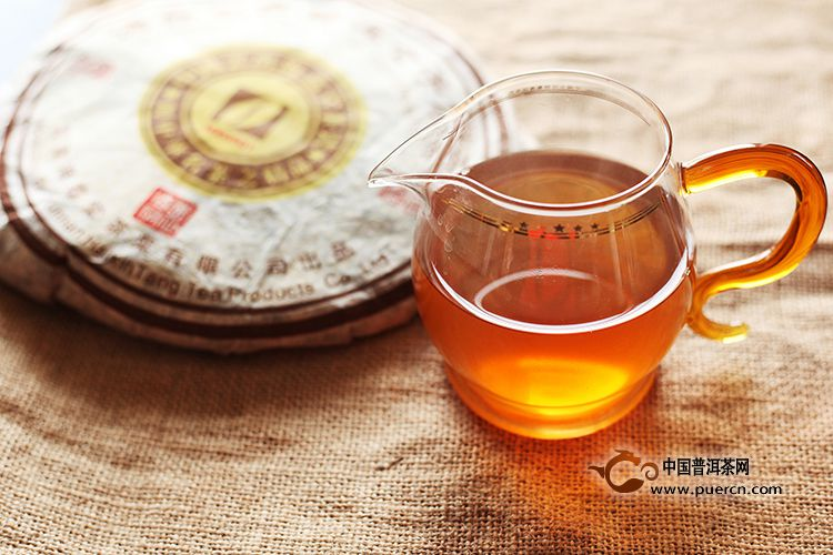 2005年海鑫堂古普洱七子饼(生茶)400克