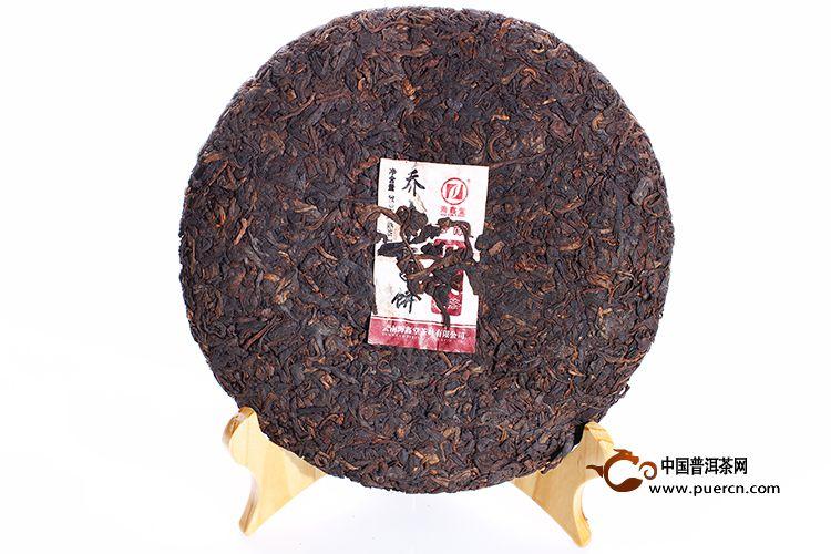 2012年海鑫堂易武乔木七子饼(熟茶)380克