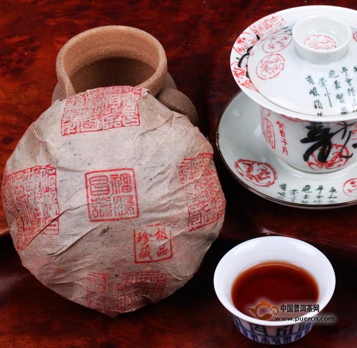 92年云南勐海特级古树乔木金瓜茶沱茶
