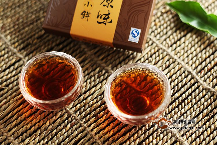2008年海鑫堂勐海原味小饼(熟茶