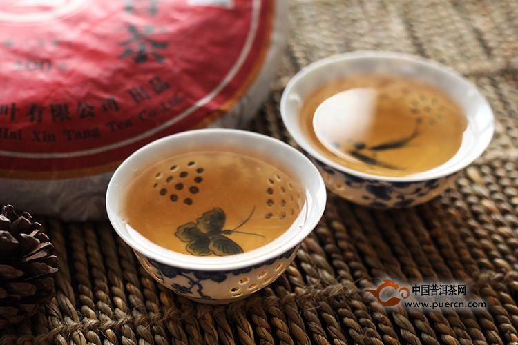 2008年海鑫堂贵妃香茶(生茶)