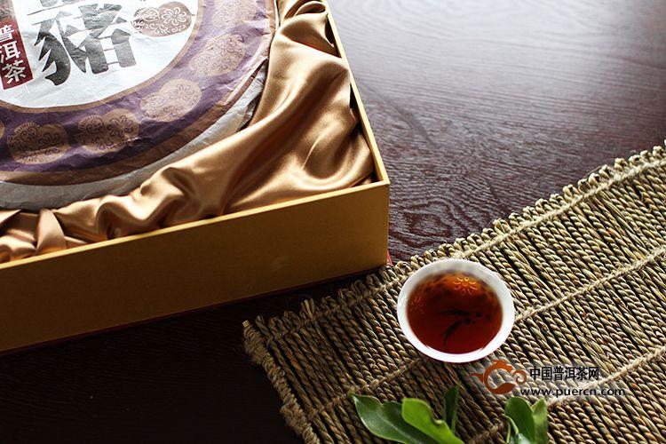 2007年海鑫至尊(熟茶)