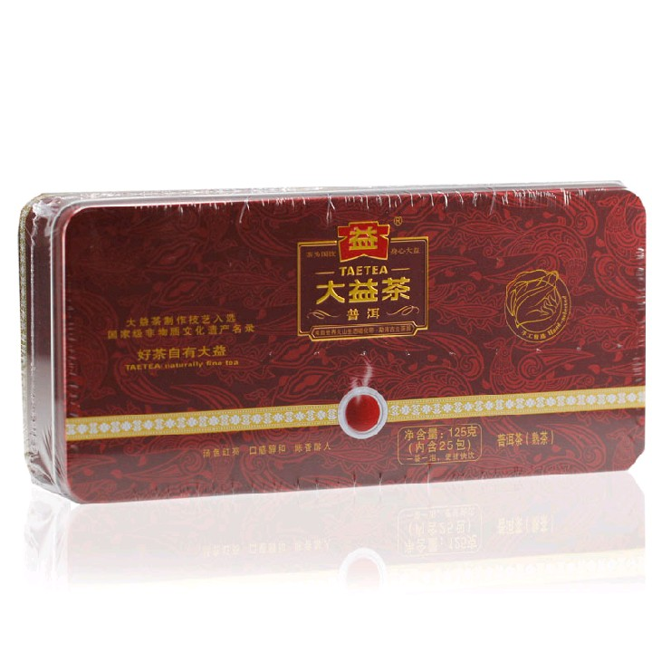 2012年大益一级散熟普(熟茶)125克