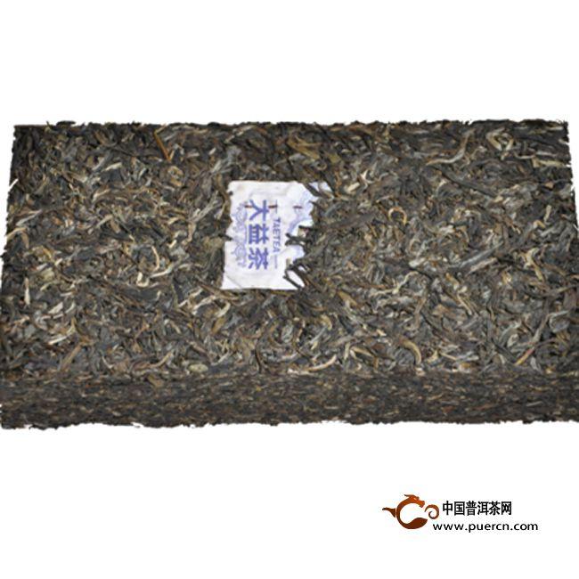 2013年大益菁华厚砖(生茶) 1000克