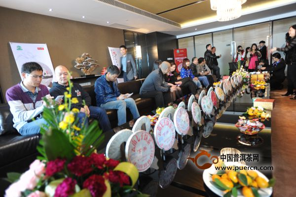 2013年度下关飞台茶王品鉴会盛大举行