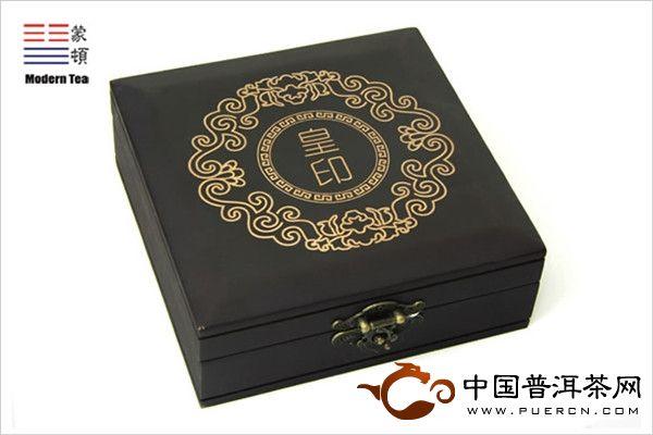 蒙顿茶制品蒙顿普洱茶膏皇印系列之皇帝行宝